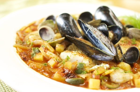 Piment d'Espelette Fish Stew