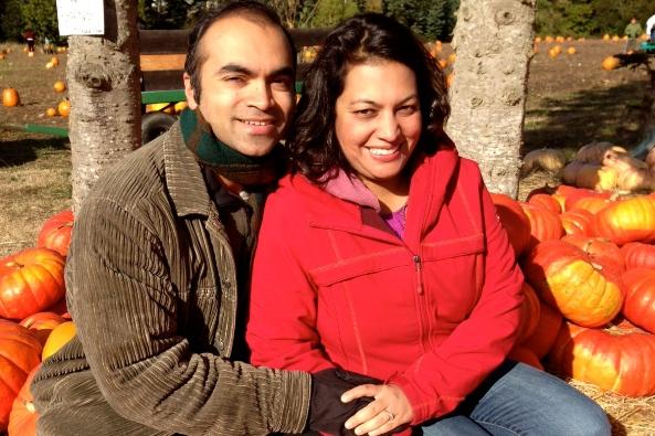 Pooja and Sanjay