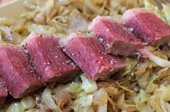 Corned Beef and Caraway Cabbage