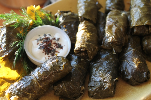 Dolmades are delicious!