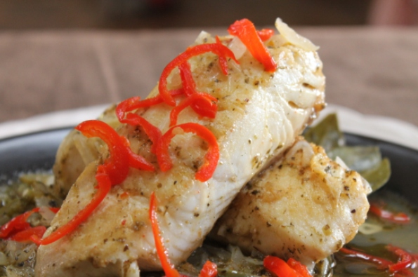 Pacific Seafood Halibut Escabeche