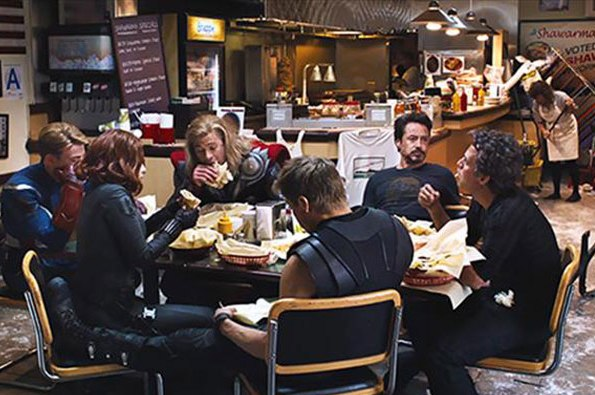 Shawarma- Avenger approved.