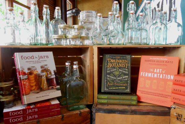 food in jars, Drunken Botanist, Art of Fermentation, cookbook, summer best sellers