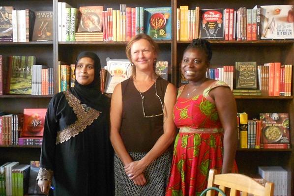 Nefisa, Amanda & Georgina