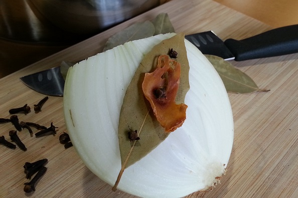 Onion cloute with one of our beautiful mace blades