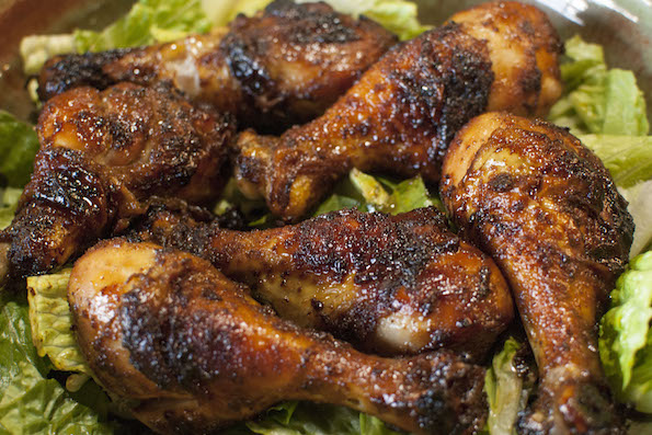 Steve's Sweet and Spicy Drumsticks