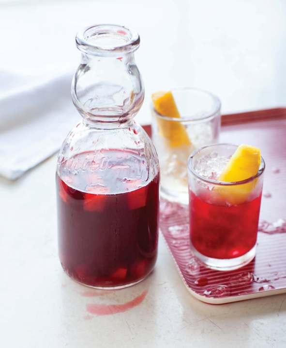 Roselle rooibos drinkblog