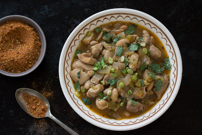 Whitebean chicken chili