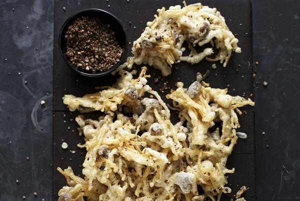 Sichuan Crisp Fried Wild Mushrooms