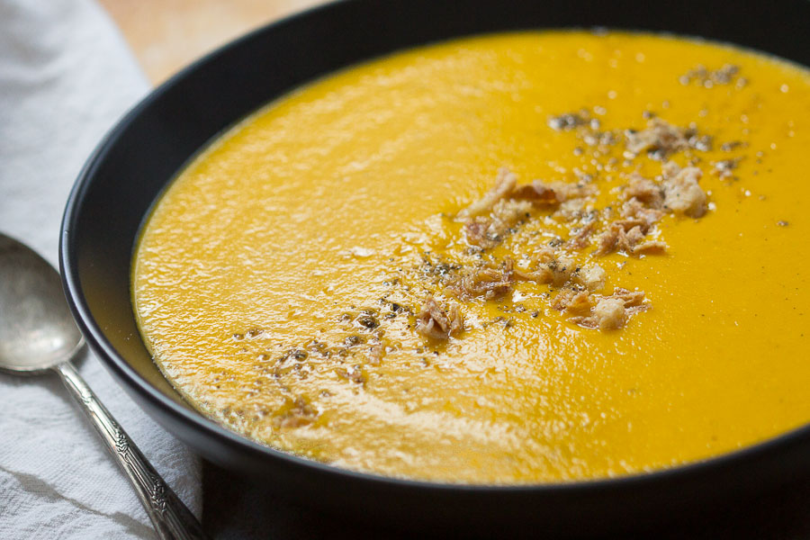 Grains of Paradise Peanut Soup