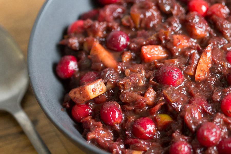 Besar cranberry chutny
