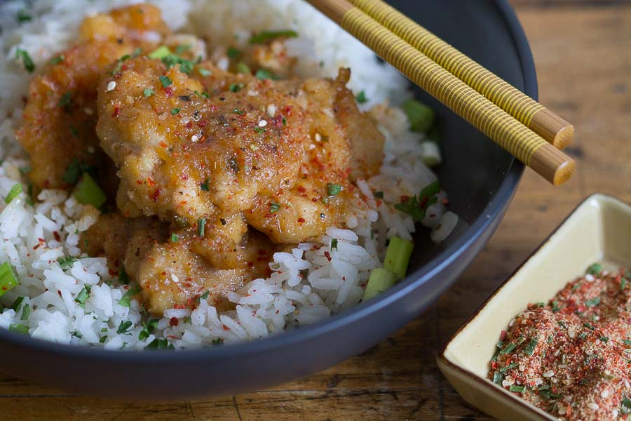Orange chicken bulgogi