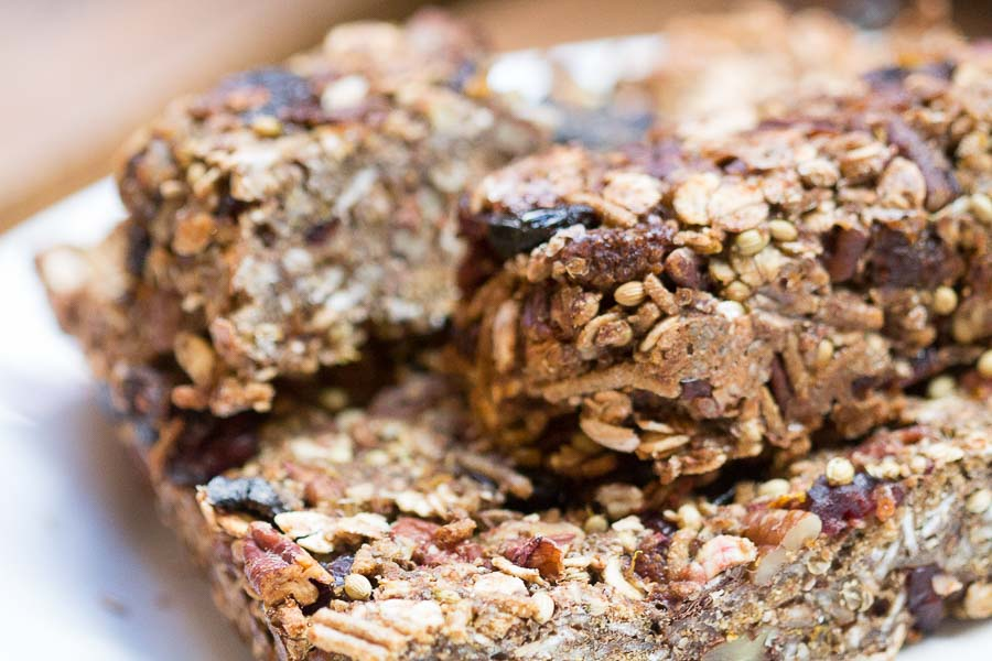 coriander energy bars