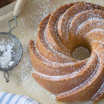 Lemon Coriander Cake