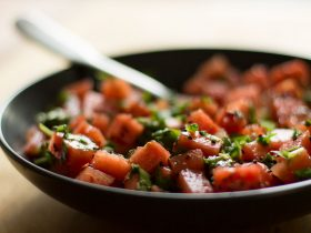 Nigella Watermelon Salad