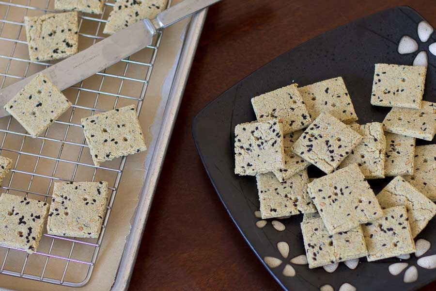 Nigella crackers