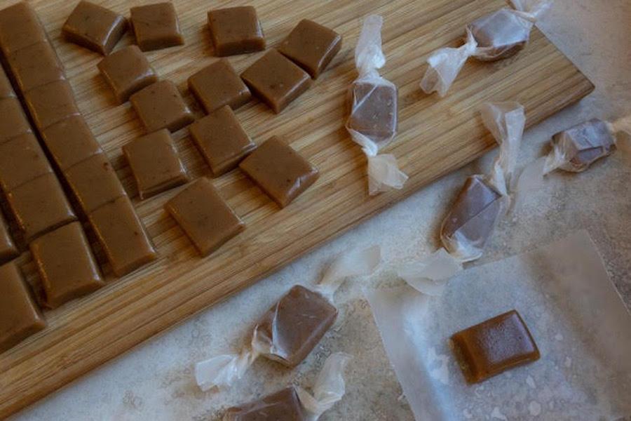 Mace caramels