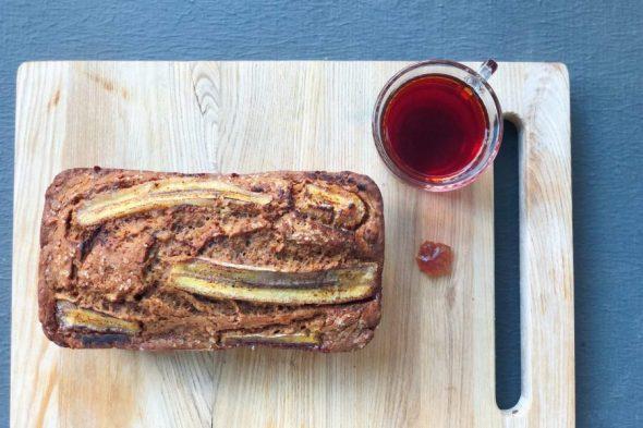 Rooibos Banana Bread