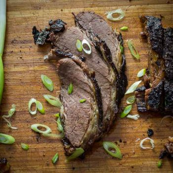 Asian Tea Rubbed Brisket
