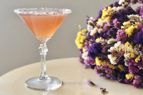 Floral Sonnets Martini