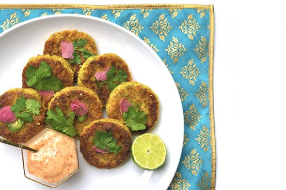Kala Masala Shrimp Cakes