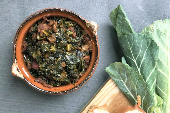 Cuban Collard Greens