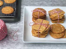 Kala Masala Almond Cookies