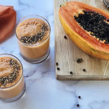 Qalat Daqqa Papaya Smoothie