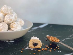 Mahlab Cherry Almond Balls