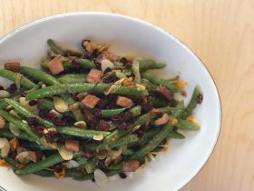 Orange Tarragon Green Beans