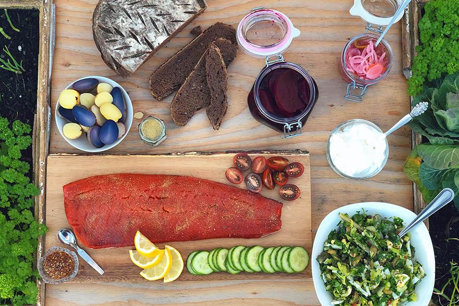 Salmon Board