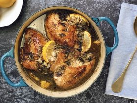 Lemon Chicken Herbes de Provence